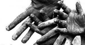 poor hands