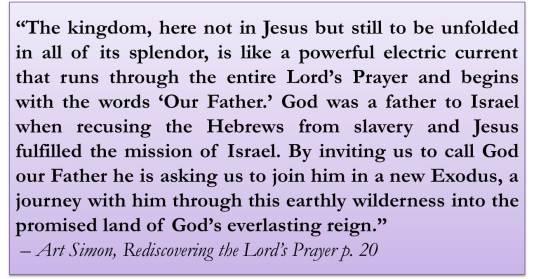 Lord's Prayer Simon